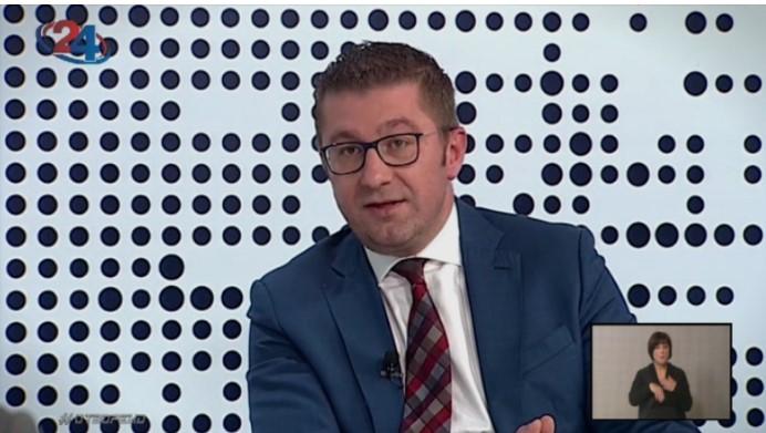 Mickoski tonight on TV24