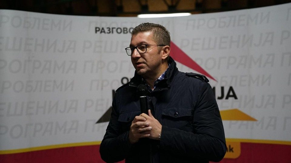 Mickoski demands accountability for the latest scandal, says the corrupt administration is only following Zaev's lead