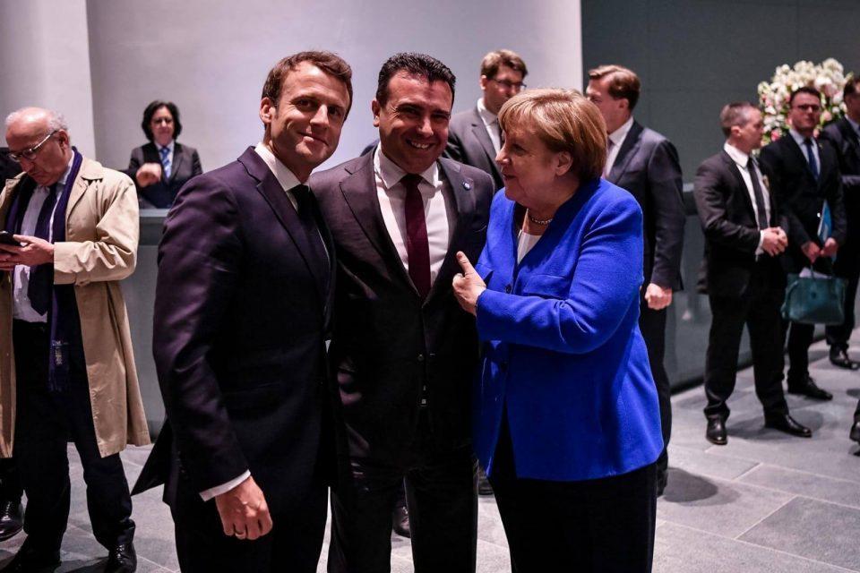 Merkel, Macron meeting last chance for Macedonia and Albania EU accession talks