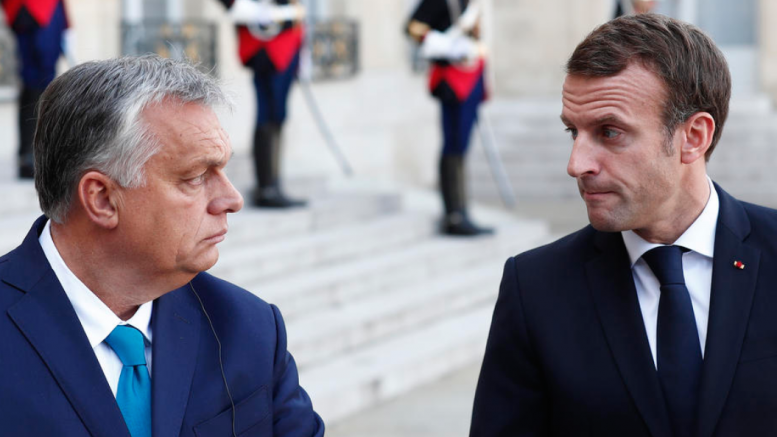 Macron meets Orban to discuss the latest European Commission crisis