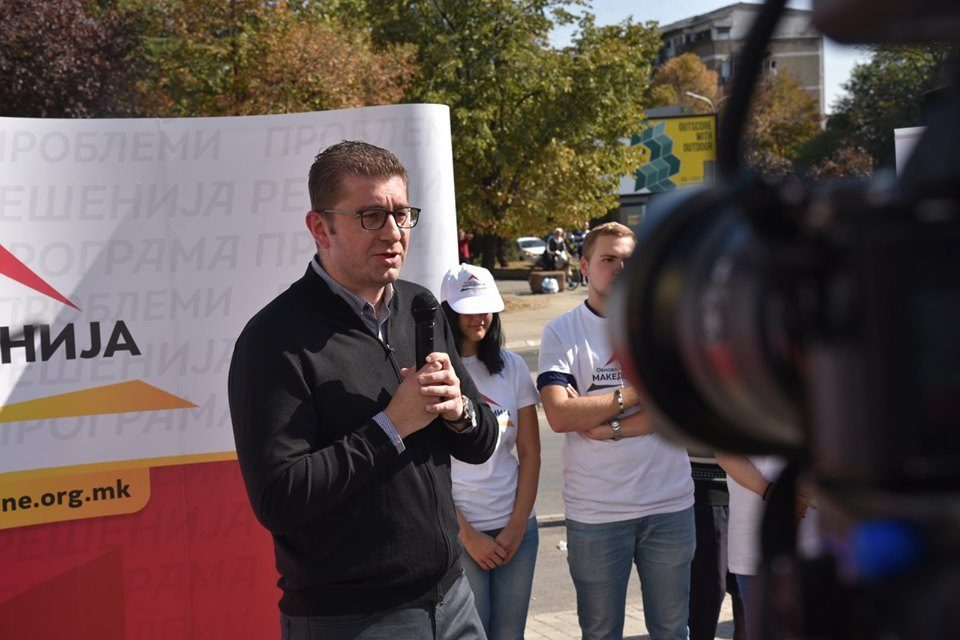 Mickoski: Zaev will be responsible if Macedonia is not given an EU accession talks date