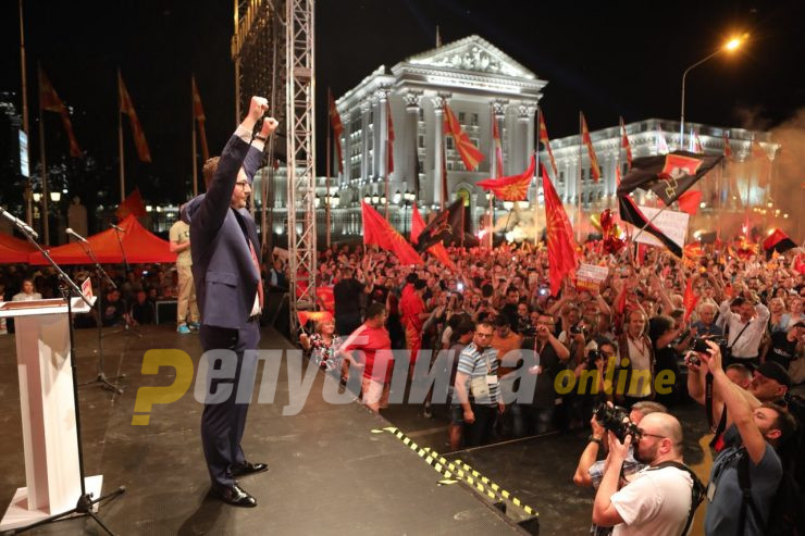 Mickoski hopes the VMRO-DPMNE offer will be enough to break voter apathy