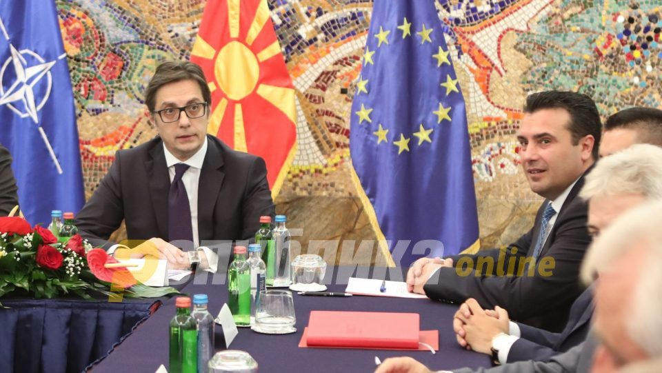 Pendarovski: We have state consensus that we continue our path to the EU