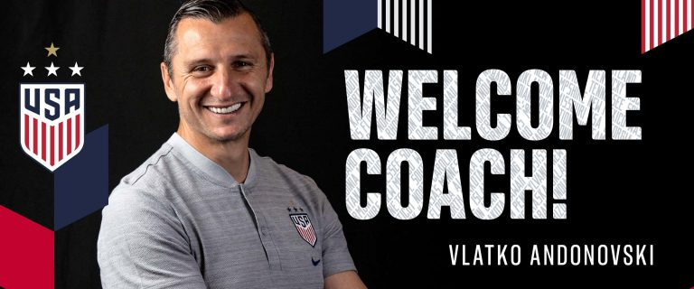 Macedonian born coach Vlatko Andonovski will lead the US women's team