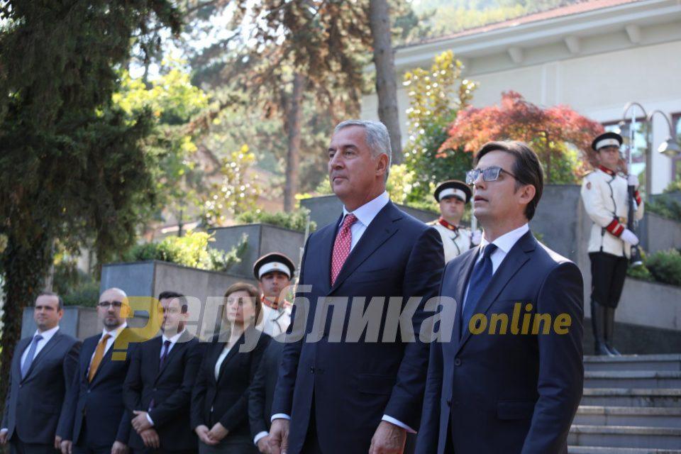 Gjukanovic and Pendarovski expect a big US push in the Balkans