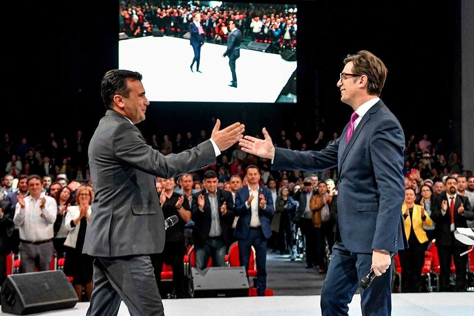 Pendarovski warns about high level corruption, makes another thinly veiled attack at Zaev