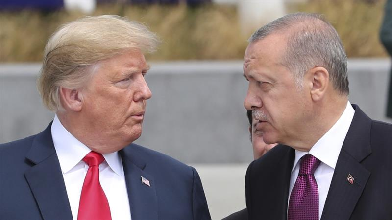 Trump threatens to 'destroy' Turkey's economy if it goes 'off limits'
