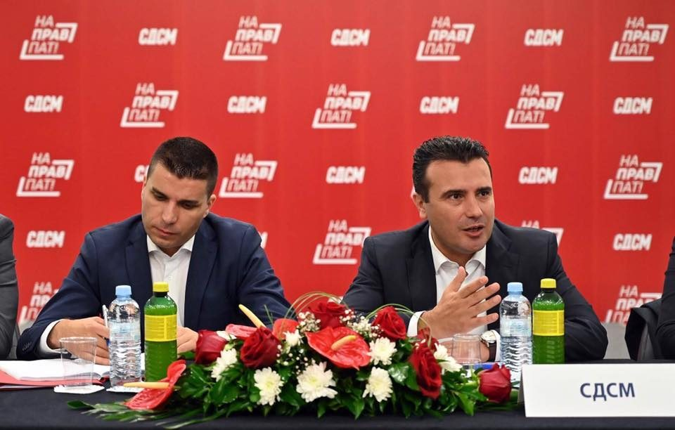 Zaev: The party needs to decide but I will be its candidate for Prime Minister
