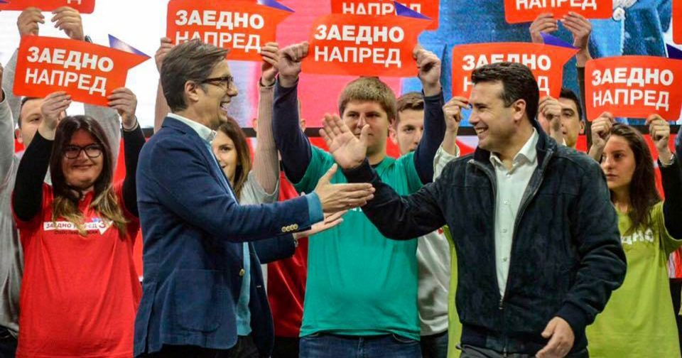 Rift between Zaev and Pendarovski on whether to keep implementing the Prespa treaty