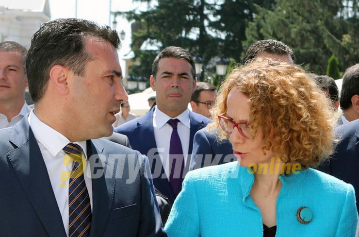 Zaev defends his deputy Sekerinska against charges of election tampering