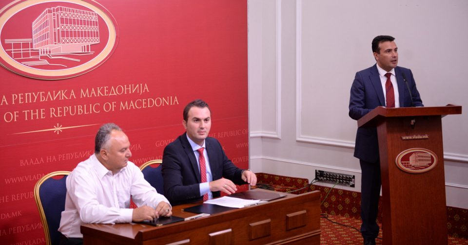 Zaev will himself go and try to appease angry teachers
