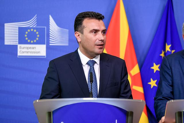 Zaev to meet Hahn, Sassoli, Tusk in Brussels