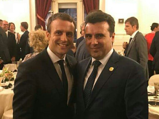 Macron announced he will be visiting Rama and Zaev