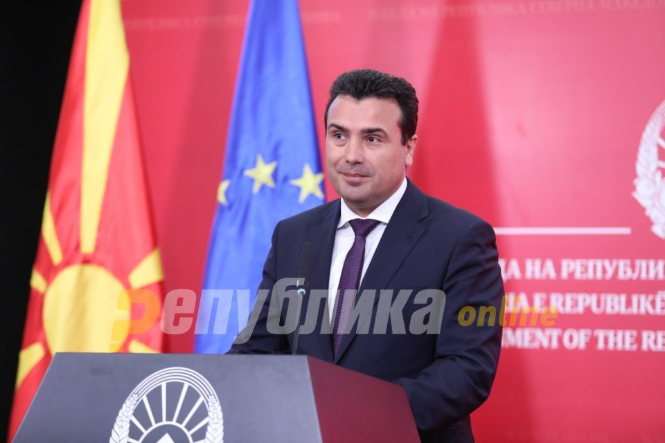 "Zaev remains hopeful ""to the sky"", will go to Brussels himself to push for an accession date"