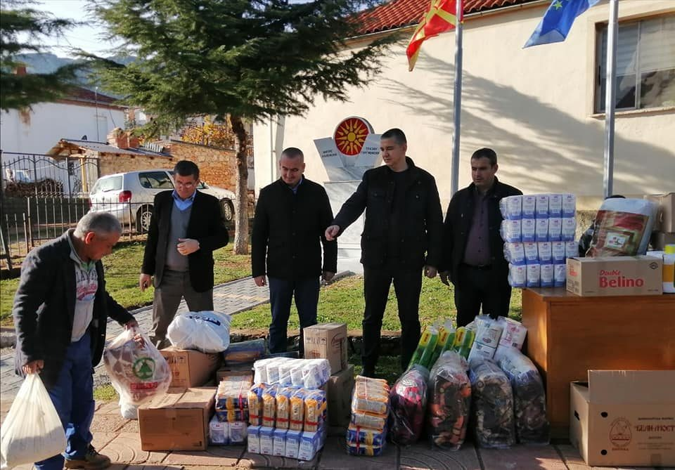 Macedonian community in Pustec collects donations for earthquake victims