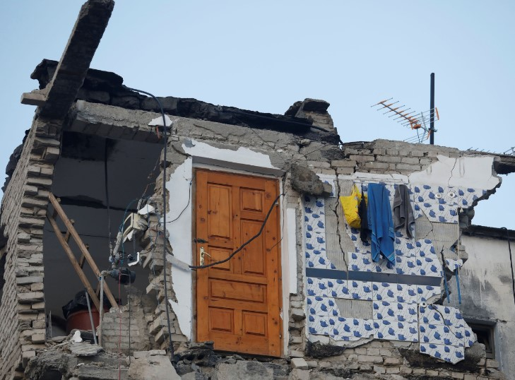 Turkey to build 500 homes for families affected by the Albania earthquake