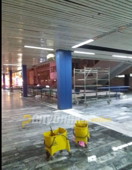 It didn't last even one day: Silegov's green roof on GTC shopping center leaked