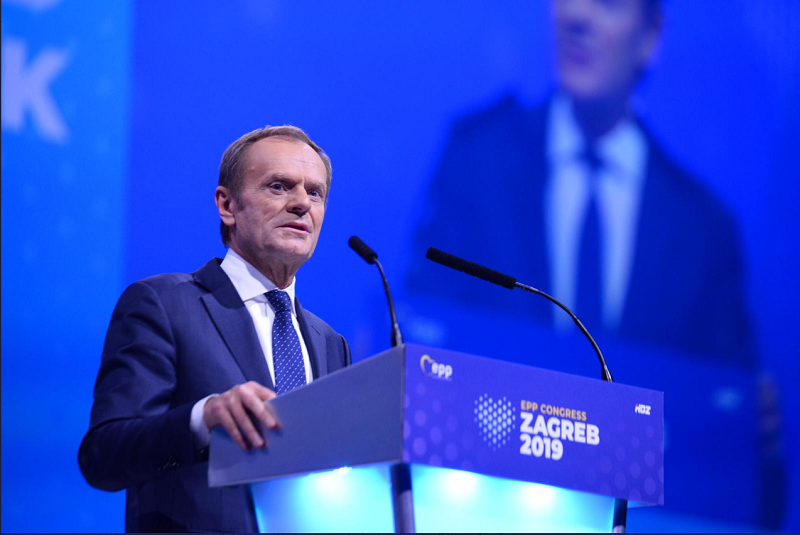 EPP elects Donald Tusk as its next leader