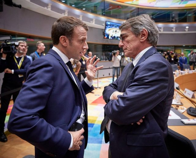 Sassoli: Blocking Skopje, Tirana shows reforms are needed in EU