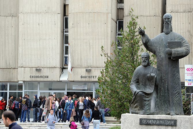 Angjusev announced the closure of some faculties