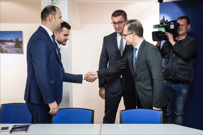 Mickoski raised the issue of corruption and stalled EU integrations during his meeting with German Foreign Minister Maas