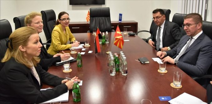 VMRO leadership announces urgent economic reforms during meeting with regional IMF representatives