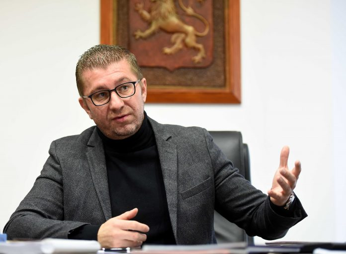 Mickoski: We have evidence of corruption in the Government