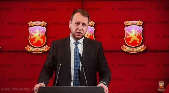 Igor Janusev to head VMRO-DPMNE election headquarters in upcoming parliamentary elections