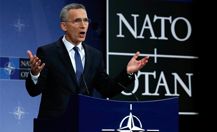 Stoltenberg: New members like Macedonia must have a secure way of communications