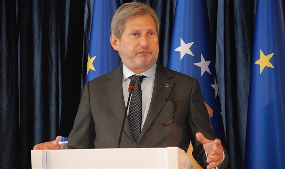 Hahn warns of great consequences if the Balkans are not integrated, while Zaev sees an opportunity in Macron's plan