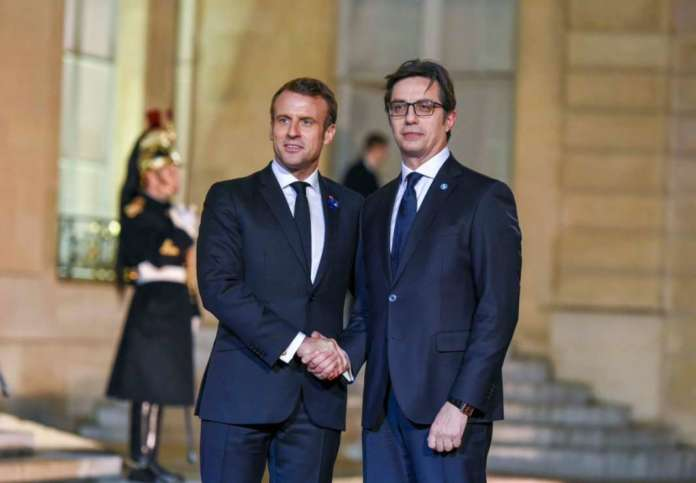 Pendarovski to hear France's views on enlargement directly from Macron