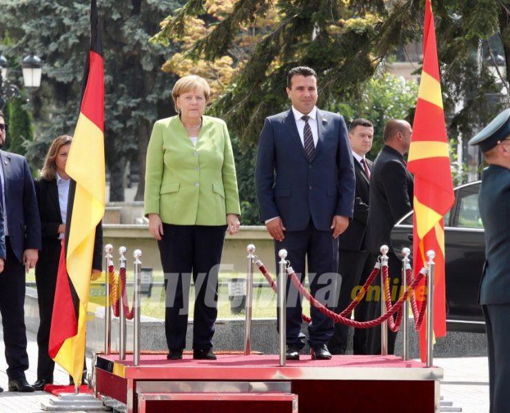 """Merkel kept Macedonia coupled with Albania to avoid being labeled Islamophobic"""
