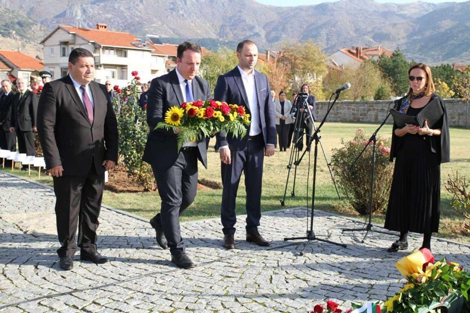 VMRO-DPMNE attends French-German commemoration on World War I Armistice Day