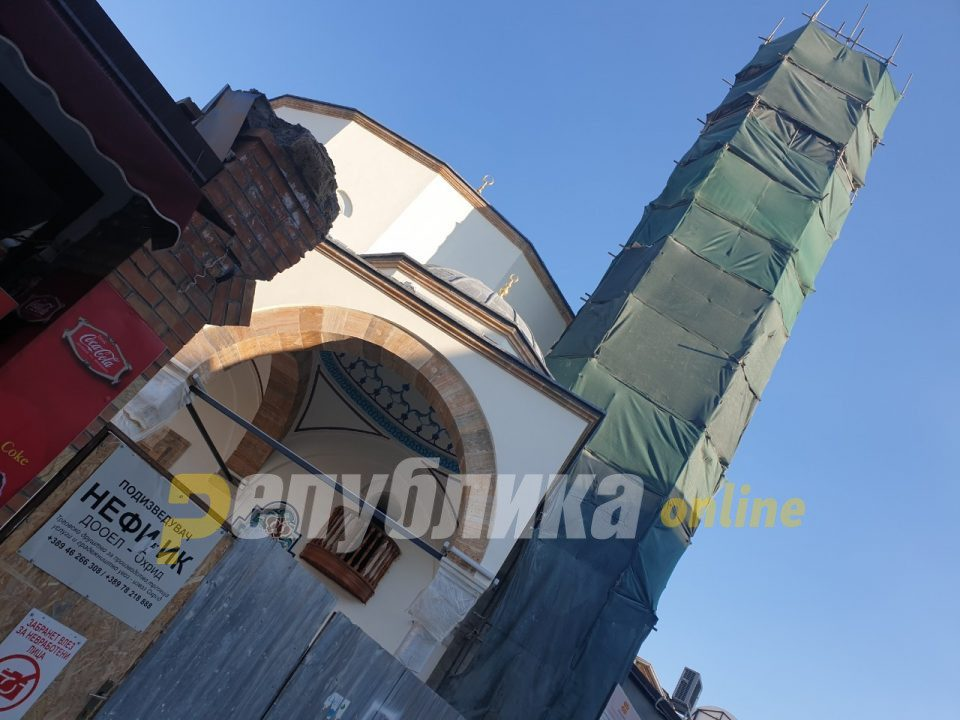 Ali Pasha Mosque in Ohrid to open on November 28