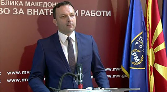 """Interior Minister Spasovski concedes that people are leaving """"this country"""" because of crime and corruption"""