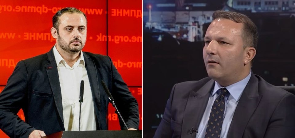 VMRO dismisses Interior Minister Spasovski's attempt to distance his SDSM party from Katica Janeva