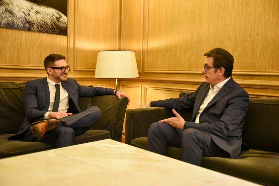 Pendarovski on meeting with Soros: Productive meeting