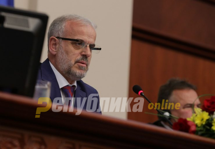 Xhaferi: Dissolved Parliament cannot be convened again