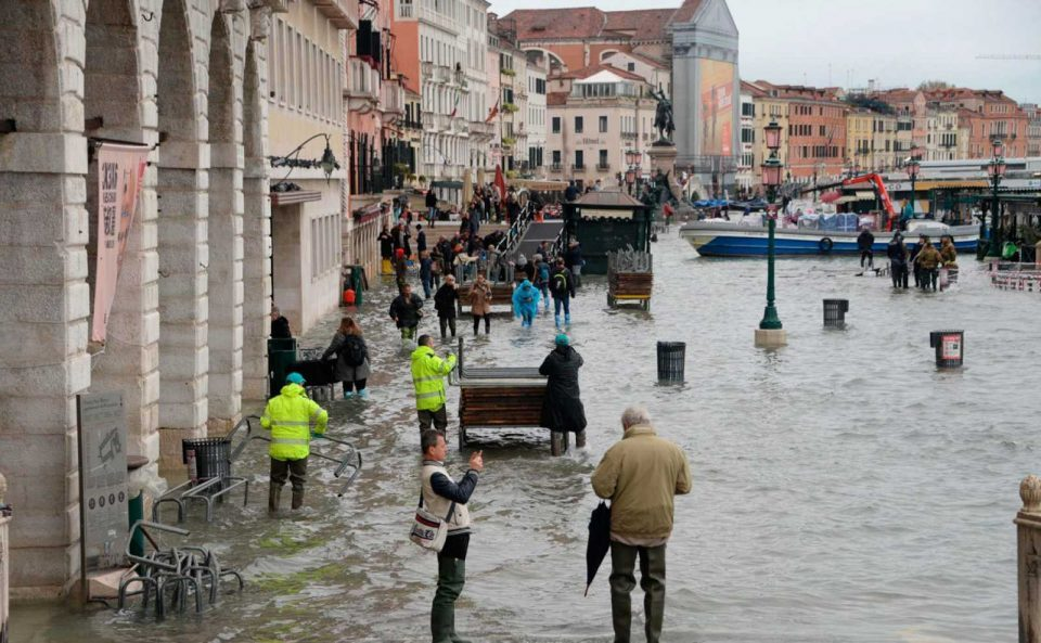Venice hit by worst flooding in 50 years