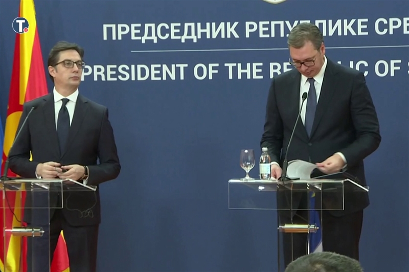 "Vucic: I told Zaev that there would be no negotiations, he looked at me as if I was ""out of my mind"" and said ""They promised me""!"