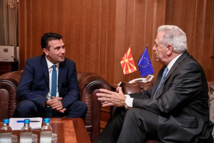 Another lie: Outgoing Prime Minister told Commissioner Avramopoulos that reforms in security sector were successful