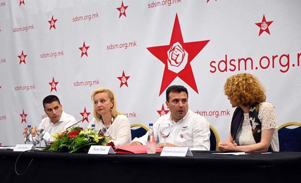 Zaev loyalist Nikolovski will lead the SDSM electoral campaign while Sekerinska will prepare the program