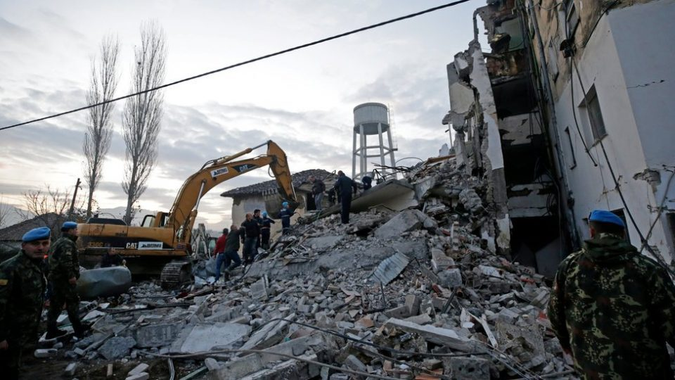 Albania earthquake toll climbs to 14 as rescuers hunt for survivors