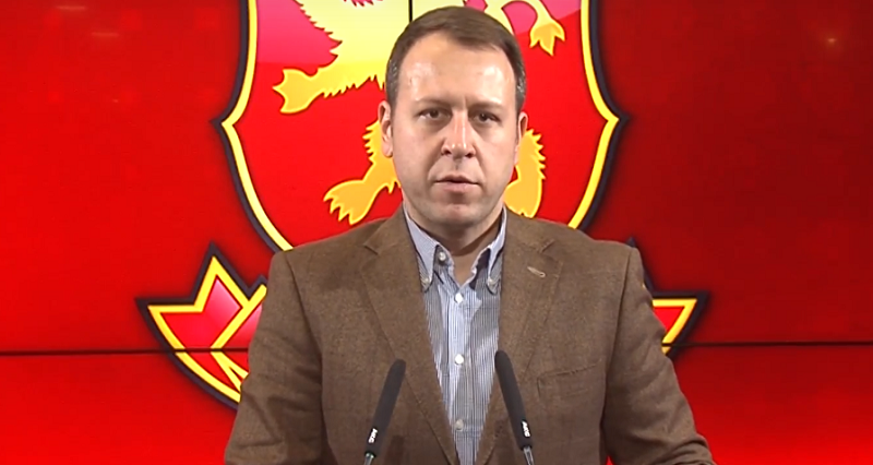 Janusev accuses the Zaev Government of criminal links with the bankrupt Russian owned TE-TO company