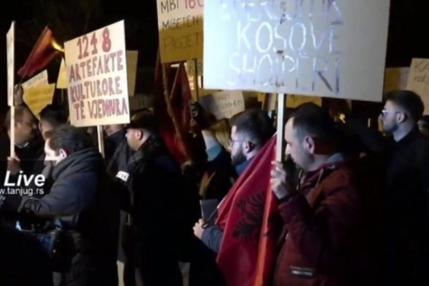 Protests against the Mini – Schengen summit in Tirana