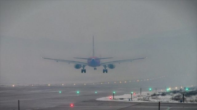Skopje airport closed for landings due to heavy fog