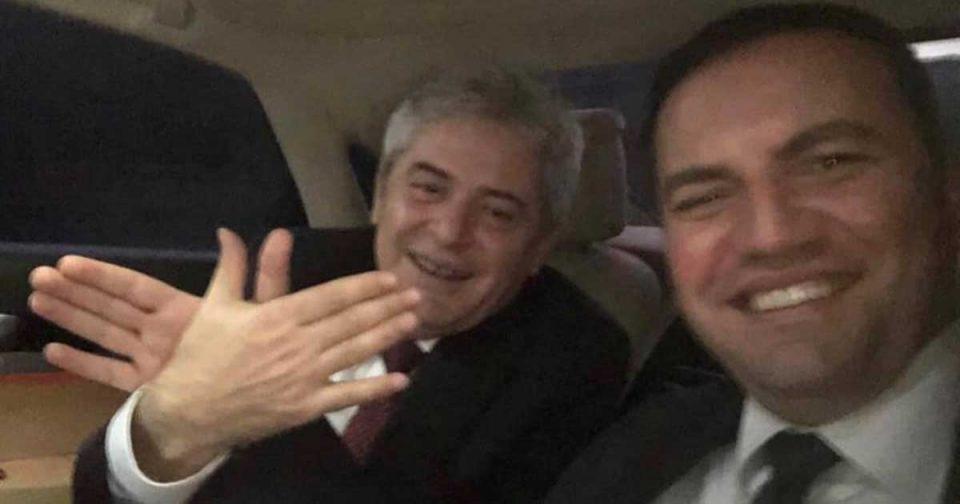Osmani boasted on Facebook with 12 Albanian ambassadors