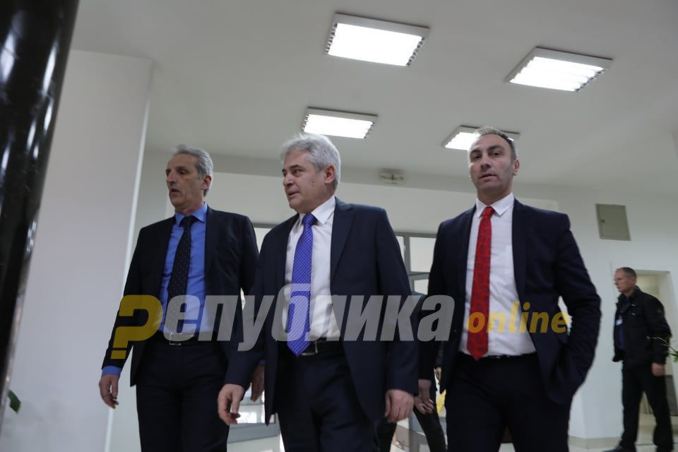 Grubi: DUI to run in the elections alone, Albanian opposition to unite so that Albanians don't lose