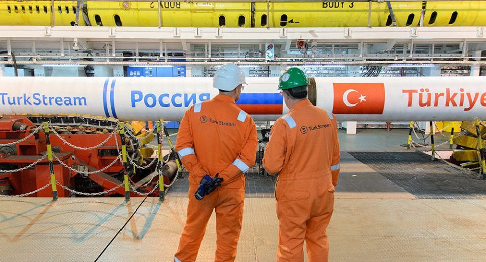 Russia says it's ready to begin supplying the Balkans with gas through the Turkish Stream pipeline