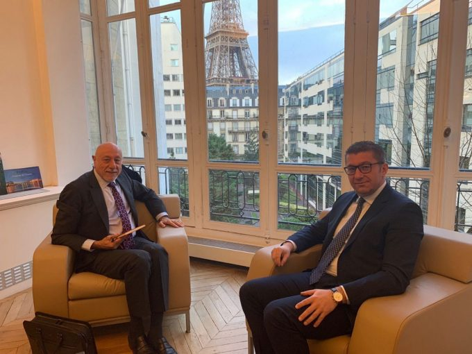 Mickoski in Paris: Our interest is to turn Macedonia into a technological tiger in the Balkans